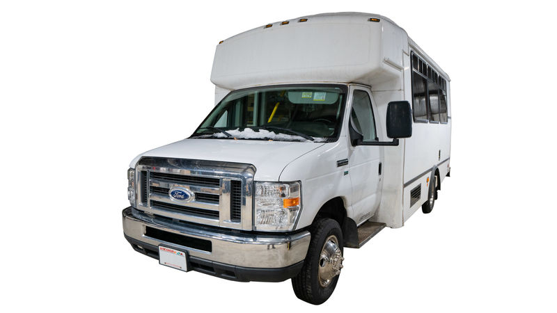 Used 2014 Ford E-350.  ConversionADA Wheelchair Accessible Bus