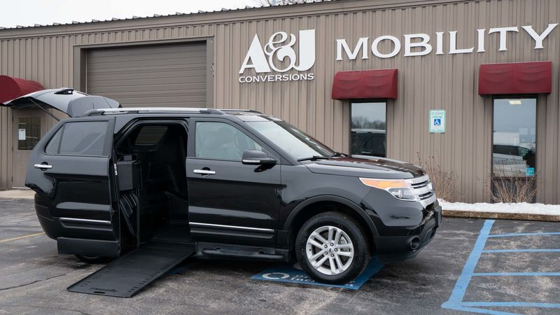 Used 2015 Ford Explorer.  ConversionBraunAbility MXV Wheelchair SUV