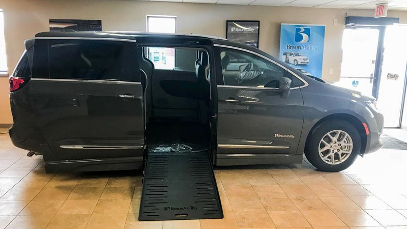 New 2020 Chrysler Pacifica.  ConversionBraunAbility Chrysler Pacifica Foldout