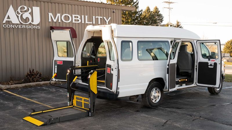 Used 2010 Ford E-250.  ConversionFull Size Van Conversion