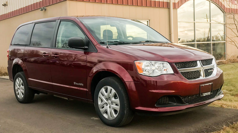 New 2018 Dodge Grand Caravan.  ConversionBraunAbility Dodge Power Rear Entry