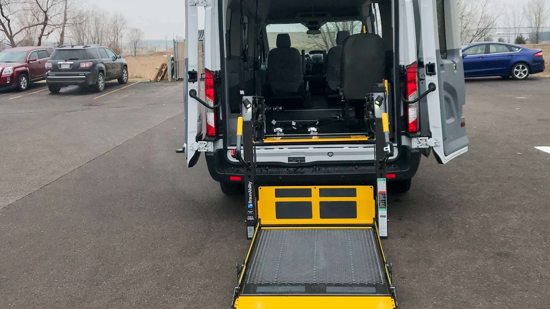 2019 Ford Transit 350 | Conversion: A&J Ford Transit