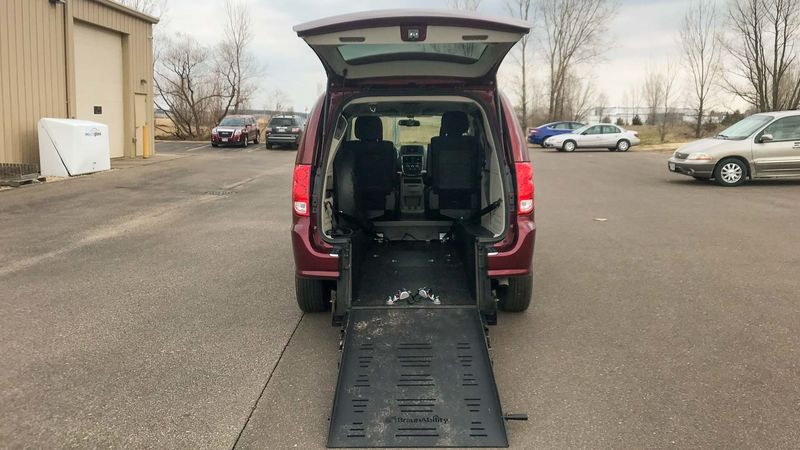 New 2018 Dodge Grand Caravan.  ConversionCommercial Vans Dodge ADA Rear Entry