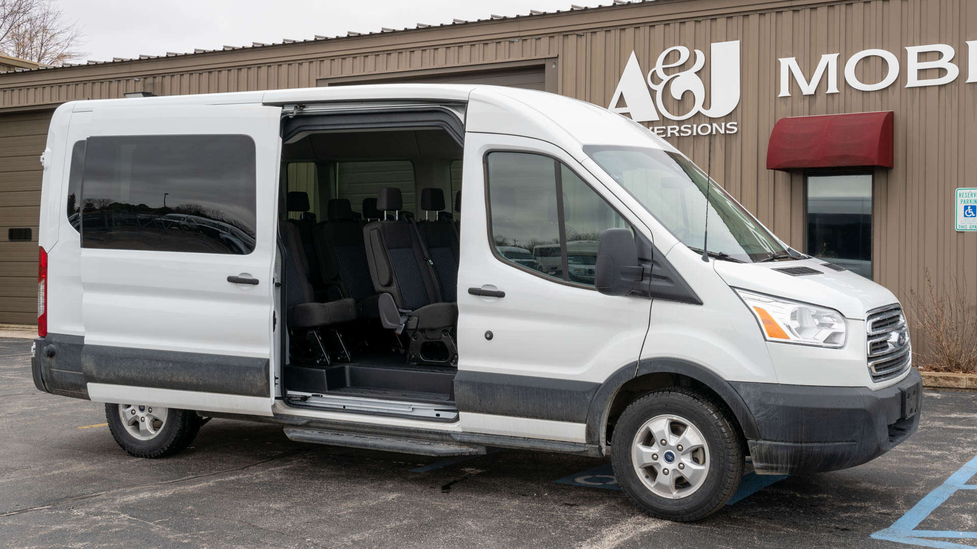 2019 Ford Transit | Conversion: A&J Ford Transit