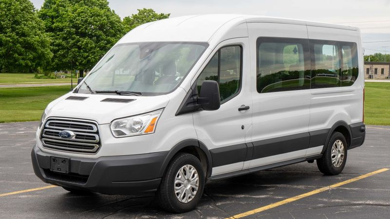 Used 2018 Ford Transit XLT.  ConversionA&J Ford Transit