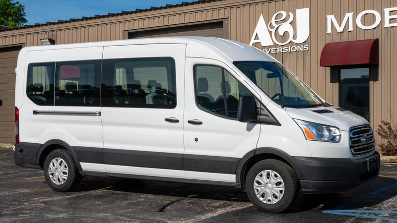 Used 2019 Ford T350 Transit Mid Roof.  ConversionA&J Ford Transit