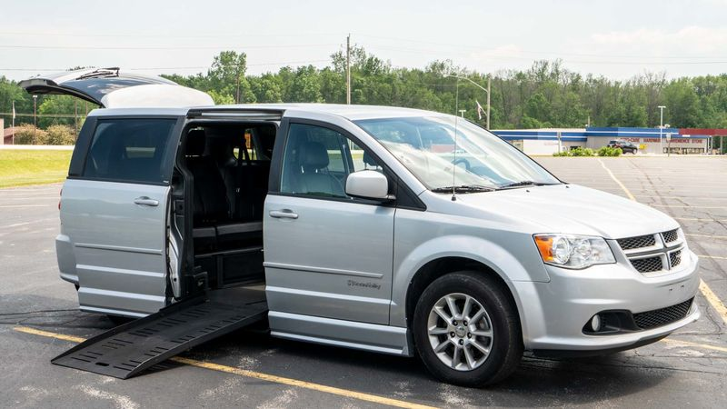 Used 2012 Dodge Grand Caravan.  ConversionBraunAbility Dodge Entervan II