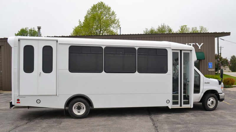 Used 2013 Ford E-450.  ConversionADA Wheelchair Accessible Bus