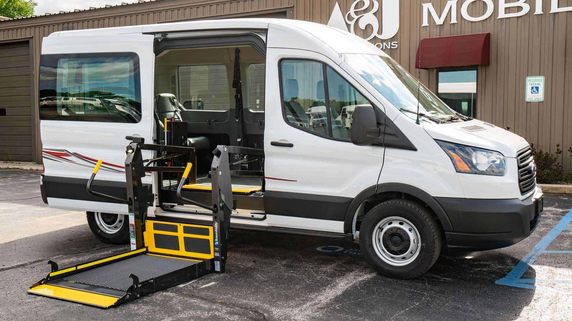 2019 Ford Transit | Conversion: Commercial Vans Ford Transit