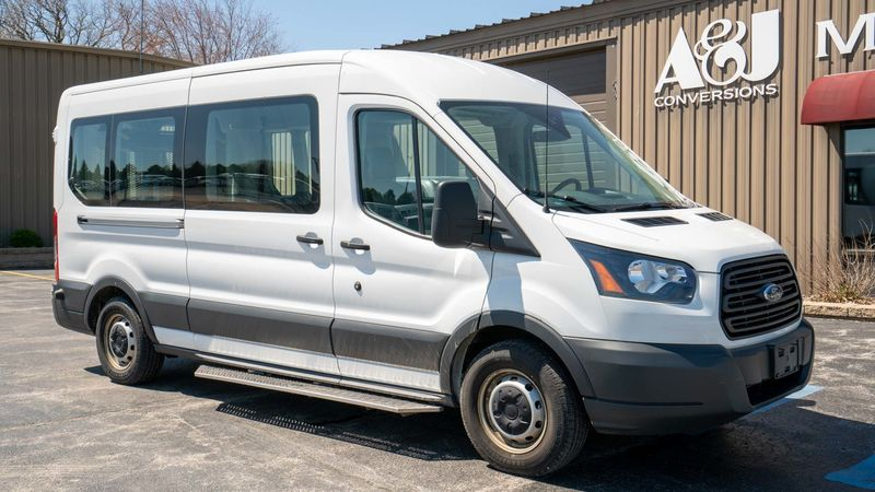 Used 2018 Ford Transit Wagon.  ConversionA&J Ford Transit