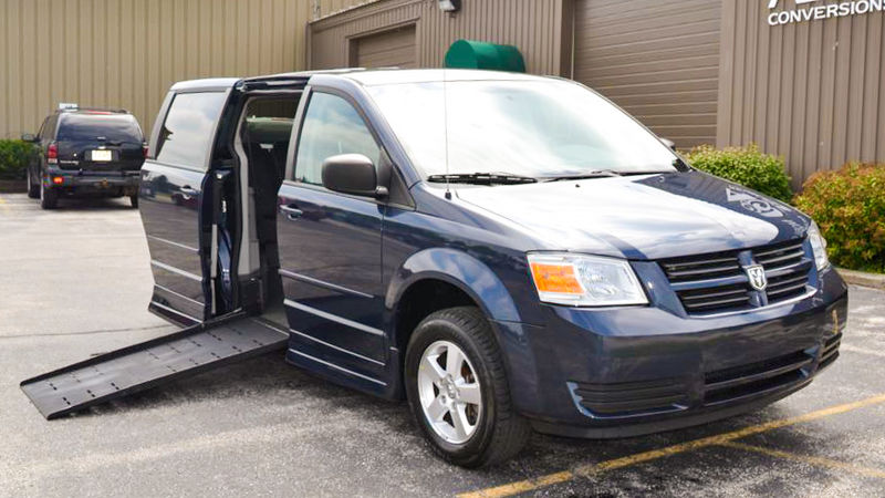 Used 2009 Dodge Grand Caravan.  ConversionRollx Vans Rollx Fold Out Dodge