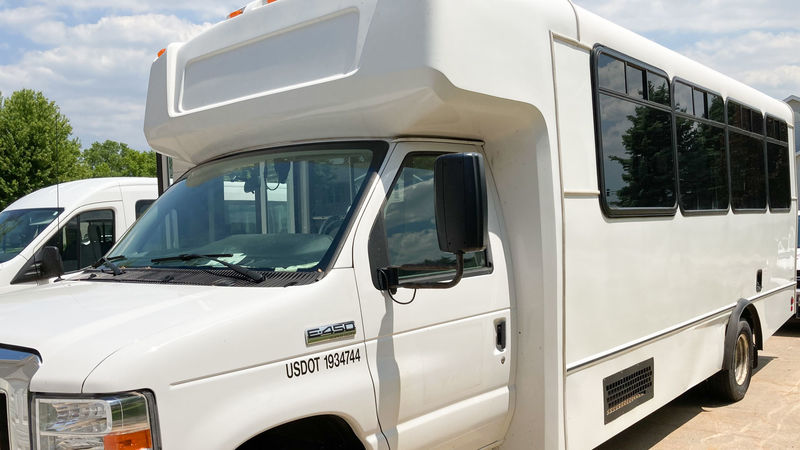 Used 2017 Ford F-450 Super Duty.  ConversionADA Wheelchair Accessible Bus