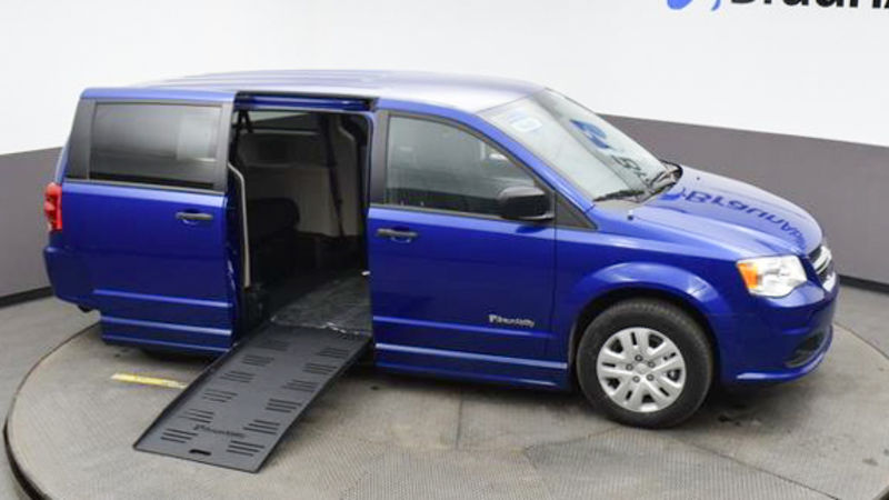 New 2020 Dodge Grand Caravan.  ConversionBraunAbility Dodge Entervan II