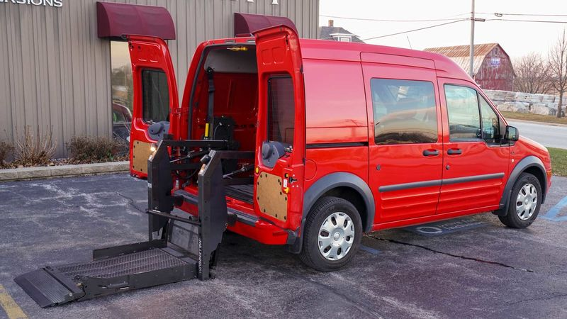 Used 2010 Ford Transit Connect.  ConversionWheelchair Lift & Tiedowns
