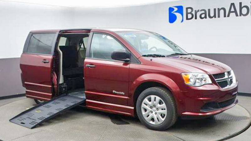 New 2020 Dodge Grand Caravan.  ConversionBraunAbility Dodge CompanionVan Plus