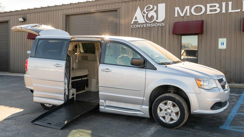 Used 2012 Dodge Grand Caravan.  ConversionCommercial Vans Dodge ADA Entervan