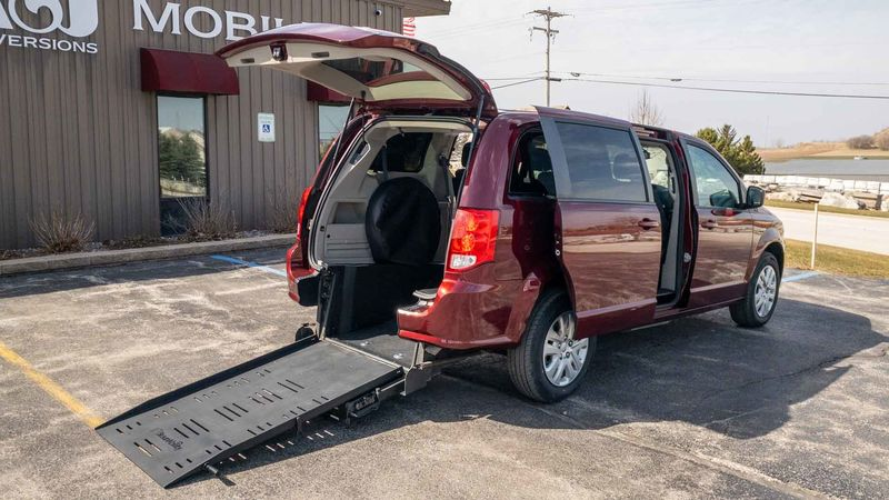 Used 2018 Dodge Grand Caravan.  ConversionCommercial Vans Dodge ADA Rear Entry