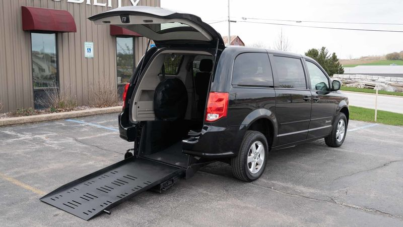 Used 2013 Dodge Grand Caravan.  ConversionCommercial Vans Dodge ADA Rear Entry