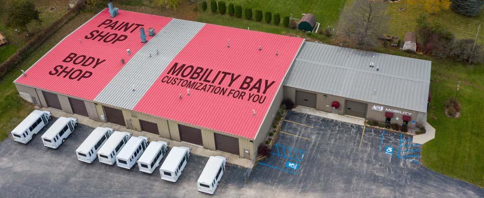 Body Shop, Paint Shop, Mobility Bay