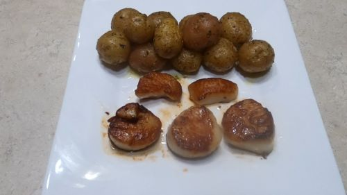 Seared Scallops - From Our Fam