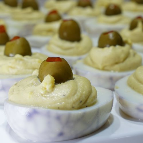 Spider Deviled Eggs - From Our