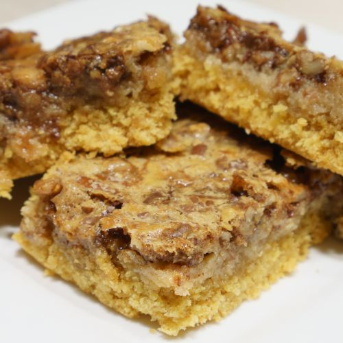 Pecan Bars - From Our Family t