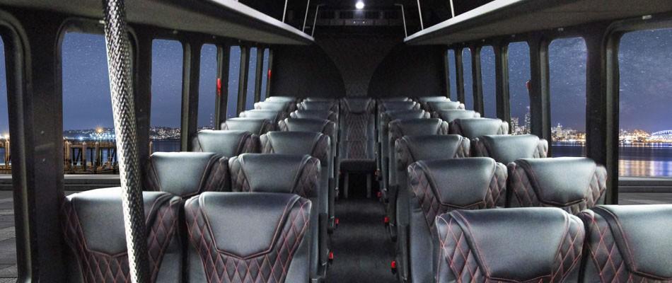 Inside of Luxury Bus